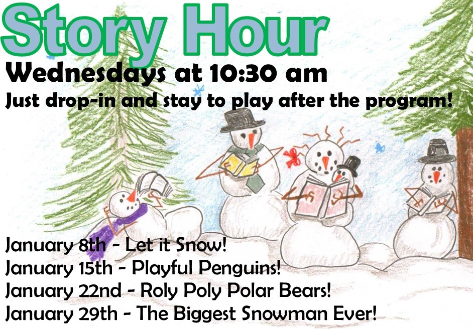 Story Hour – The Biggest Snowman Ever!